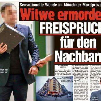 Witwe ermordet – FREISPRUCH für den Nachbarn - Aktuelles & Presse von Steinberger & Heindl