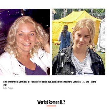 Roman H. Pressemeldung BIld Zeitung | Tom Heindl Strafverteidiger München